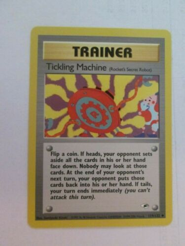 Uncommon Pokemon 119//132 Tickling Machine PKGymH119 Gym Heroes