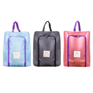 25c7ec5a2c70 Details about 3 Color Portable Travel Shoe Bag Zip View Window Pouch  Storage Waterproof Bags