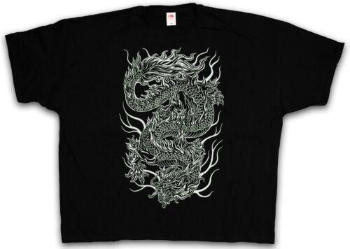 Tattoo Asia Drache Japan T-Shirt XXXXL XXXXXL 4XL /& 5XL CHINESE DRAGON T-SHIRT