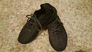 f6f84fb21248f AUTHENTIC Mens Pirate Black Adidas Yeezy Boost 350 Sneakers Size 7 ...