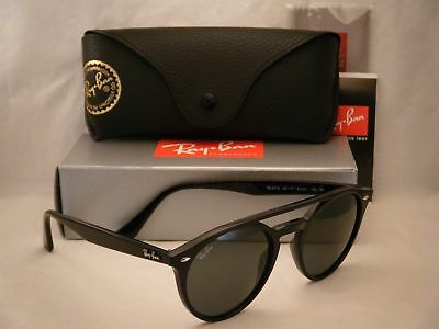 Ray Ban 4279 Black W Green Lens New Sunglasses Rb4279 601 71 8053672717655 Ebay
