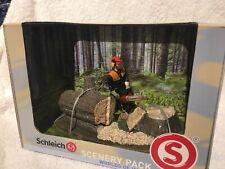 Spielfigur 41806 Scenery Pack Waldarbeit Schleich