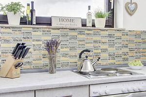 Dettagli su Pannello Posteriore Cucina Piastrelle SPECCHIO pietra naturale  vetro mix grigio oro parete art. 87-29- mostra il titolo originale