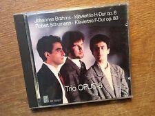 Brahms - Klaviertrio H-Dur + Schumann - Klaviertrio F-Dur [CD Album] Trio Opus 8