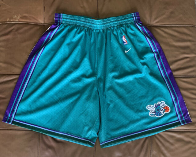 Mitchell /& Ness Charlotte Hornets Classic NBA Jersey Homme S Bnwt