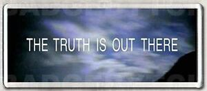 X-Files-THE-TRUTH-IS-OUT-THERE-Wide-fridge-magnet