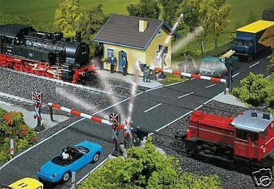 """120171 FALLER Beschankter Bahn 65533; """" liv5533; bergang H0"""