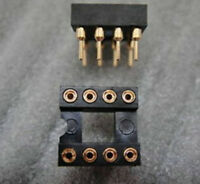 40pcs 8PIN GOLD DIP IC SOCKET PANEL ADAPTER SWAPPING,G8S mh