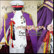 Axis Powers Hetalia APH Japan Military Cosplay Outfit Costume Cape CD cover