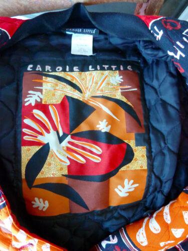W Arancione Nero Bianco Giacca Carole 6 trapuntata Bold Little Oro stampa Rosso nHX8YXwq