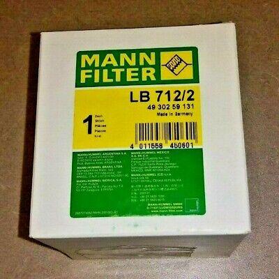 Spin-On Separator Element LB 11 102//2 Mann Filter Part# LB11102//2