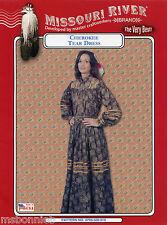 Native American Indian Cherokee Tear Dress S-XL Missouri River Sewing Pattern