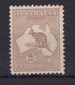 K322-Australia-1915-Light-Brown-Kangaroo-2nd-wmk-MINT-UNHINGED