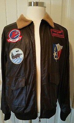 "Top Gun ""Maverick"" Men's Halloween Costume Jacket – Size Large"