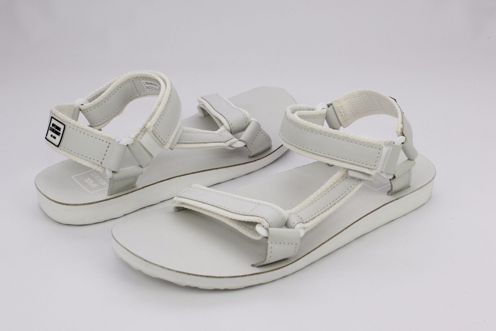 TEVA  X OPENING CEREMONY ORIGINAL UNIVERSAL LEATHER BIANCA SANDAL Uomo SIZE 10 US