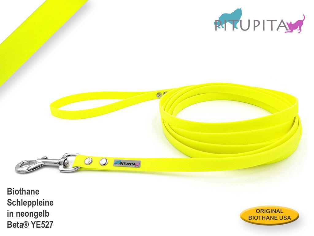 Biothane® Schleppleine Schleppleine Schleppleine Trainingsleine Fährtenleine viele Farben Längen & Breiten  | Modisch  a70072