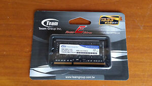 New Team Memory 8GB 204-Pin DDR3 SO-DIMM DDR3 Laptop Mini PC