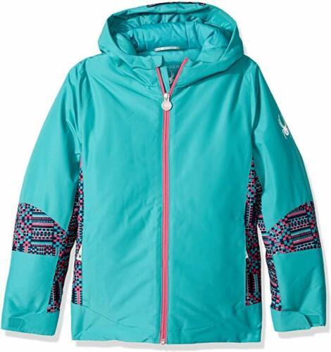 14//16 Girls Spyder Kids Bitsy Charm Snow Jacket,Ski Snowboarding Jacket,Size L
