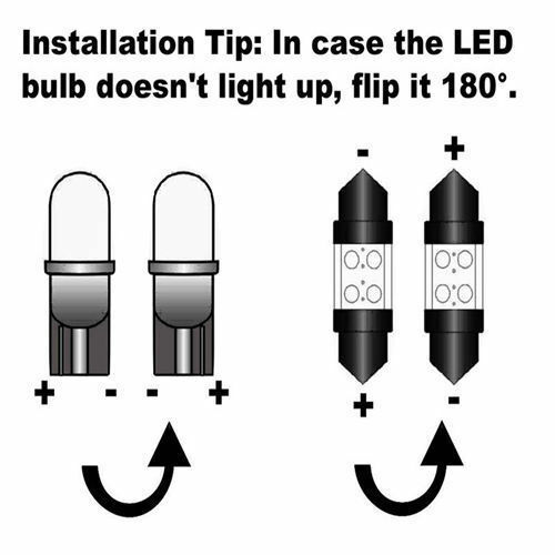2PS LED Side Light Parts 15-SMD Bulbs Canbus Parking Beam For Ford Focus C MAX