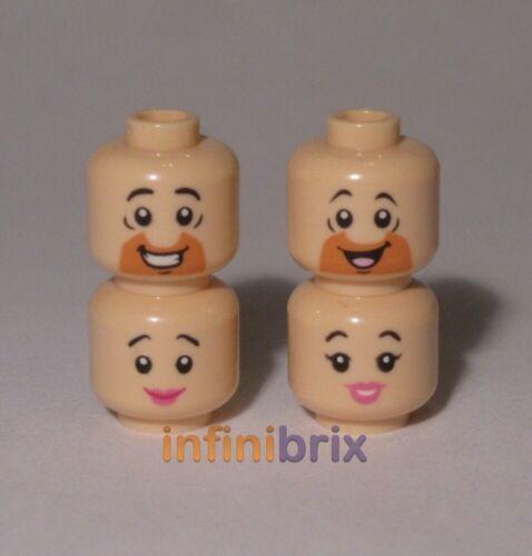 Barney 4x LEGO I FLINTSTONES TESTE FRED Betty Rubble NUOVE Wilma Flintstone