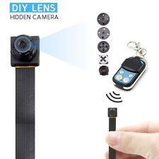 New 1080 HD Screw spy hidden video micro nanny pinhole camera DVR recorder cam