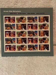 Great-Films-Directors-Forever-stamps-Full-Pane-Souvenir-sheet