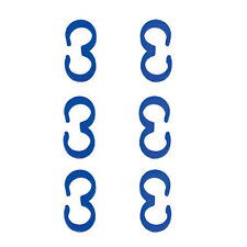 Nitro Fuel Line Clips for Silicone Tubing, Blue, 10275BL