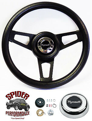 "1968 1969 Roadrunner Satellite Fury GTX steering wheel 13 1//2/"" WALNUT 4 SPOKE"