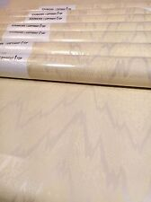 Schumacher Wallpaper Bold Chevron Abstract 7 Triple Yellow Gold Lustre Metalic