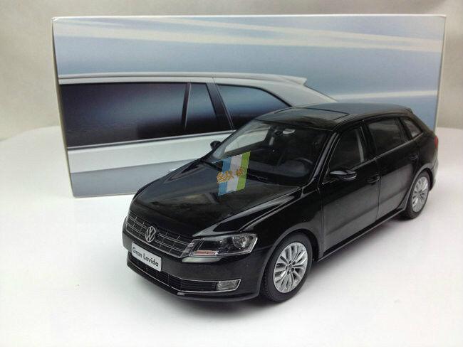 1 18 Shanghai Volkswagen Gran Lavida 2013 nero Modelo Diecast Edición De Distribuidor