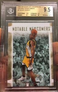 KEVIN-DURANT-rookie-Card-Fleer-Notable-Newcomer-2007-GEM-MINT-9-5-BGS-W-10-Sub