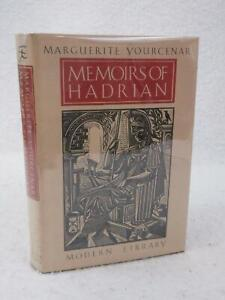 Marguerite Yourcenar MEMOIRS OF HADRIAN 1984 First Modern Library Edition HC/DJ