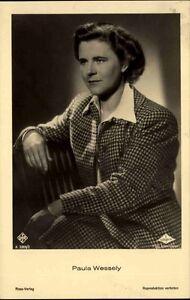 Paula-WESSELY-Portraet-Schauspielerin-Kino-Buehne-Ross-Verlag-1930-Nr-3369-2