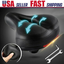 4x Comfort Wide Big Bum Bike Bicycle GEL Cruiser Extra Sporty Soft Saddle Seat