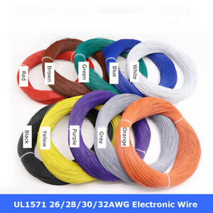 26 28 30 32AWG UL1571 Flexible Stranded Wire Cable PVC Insulated Electronic Wire