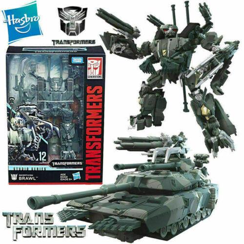 Transformers Studio Series 12 Decepticon Brawl Voyager Class robot tank figures