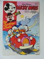 Micky Maus Nr. 7 - 1986 - komplett mit Beilage - Zustand 1/1-2