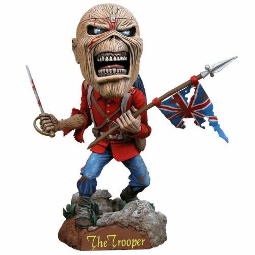 2011 NECA Eddie Trooper Head Knocker Bobble Head Figure Iron Maiden Collectible