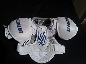 Details about Warrior Method Hockey Shoulder Pads Youth All Sizes