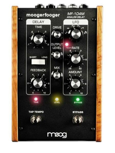 moog mf 104m delay guitar effect pedal for sale online ebay. Black Bedroom Furniture Sets. Home Design Ideas