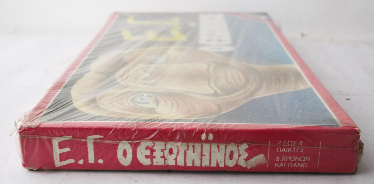 ULTRA RARE VINTAGE 80'S ET EXTRA TERRESTRIAL BOARD GAME REMOUNDO REMOUNDO REMOUNDO GREECE NEW MISB b1800e