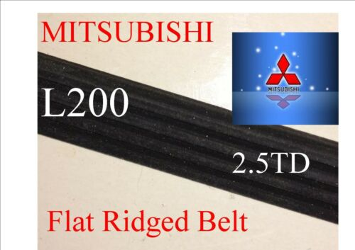 Mitsubishi Warrior fan belt Kit Per L200 2.5 TD Tutti e tre cinghie!!