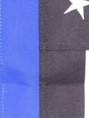 "28x40 Embroidered USA Police Blue 600D Sleeved Garden Flag 28/""x40/"" nylon banner"