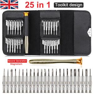 32 in 1 Small Precision Hex  Star Mini Screwdriver Set Bits Repair Tool Kit UK