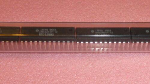 NEW 3PCS HITACHI HM53461P-12 IC DUAL PORT VIDEO Static RAM NOS 24 PIN DIP 64Kx4