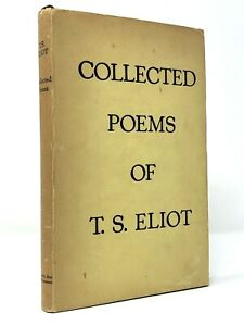 Details About T S Eliot Collected Poems 1909 1935