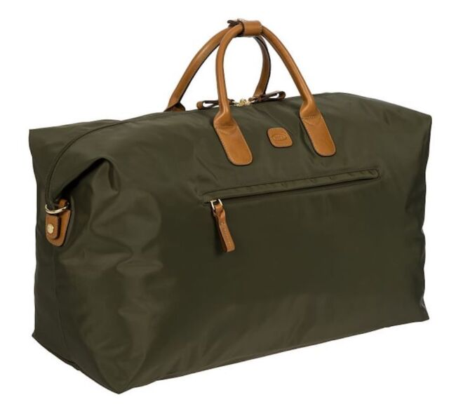 Bric S X Travel 22 Deluxe Duffel Bag Nwt Olive Green Suitcase Luggage Carry On