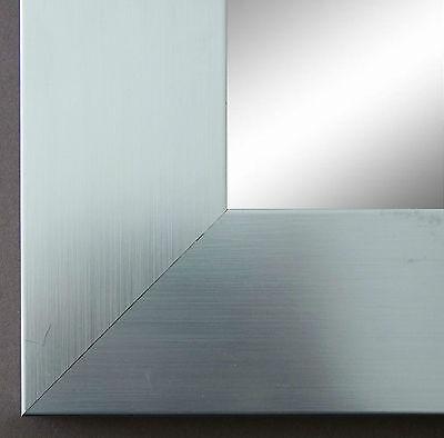Spiegel Wandspiegel Holz Modern Art Novara in Silber 70,0 - Top Qualität