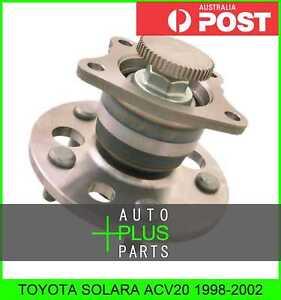 Fits-TOYOTA-SOLARA-ACV20-Rear-Wheel-Bearing-Hub