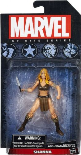 Hasbro-Marvel Infinity Series-SHANNA Action Figure